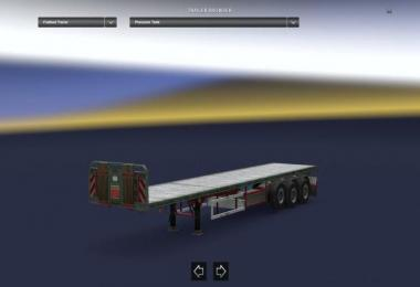 Empty Flatbed Trailer Support 1.30.x