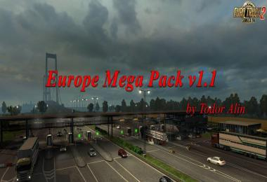 Europe Mega Pack v1.1 by Todor Alin