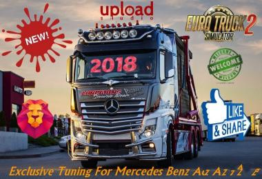 Exclusive Tuning For Mercedes Benz Actros MP4 v1.0