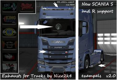 Exhausts & Tuning Parts for Trucks v2.0 1.30