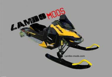 FS17 Snowmobile ski doo - Mod release Beta