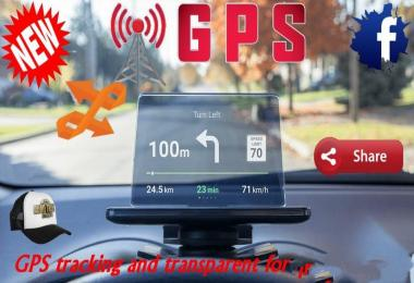 GPS Tracking and Transparent for Looking Glass