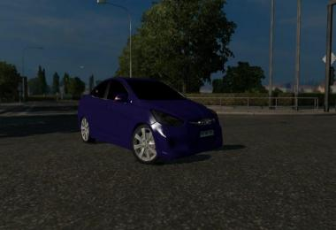 Hyundai Accent v1.0 rework Motorway Roads allan