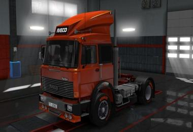 IVECO 190-38 Turbo V8 open pipe sound v1.0
