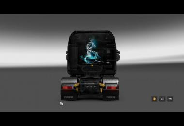 Iveco Hi-Way Skin Dragon For ETS2 v1.0