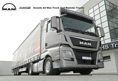 MAN Euro 6 Sounds v1.0