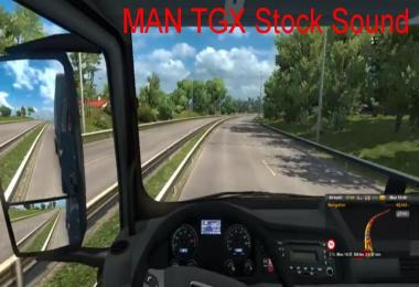 MAN TGX Stock Sound v1.0