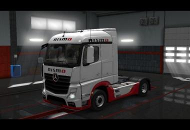 Mercedes Actros MP4 Nismo Skin