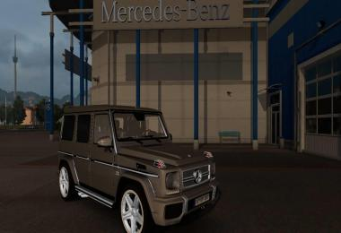 Mercedes Benz G65 as Escort 1.30