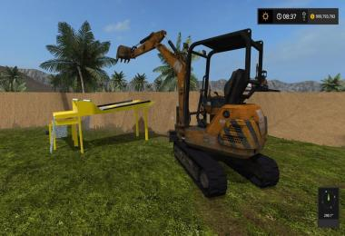 Mini nomad excavator v1.0