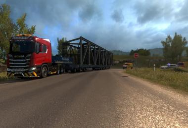 New routes for DLC Special Transport v1.0