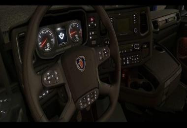 Next Gen Scania | Display – Dash Color – Needles – Glass v1.1