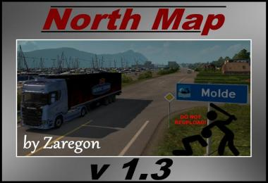 North Map v1.3 by Zaregon