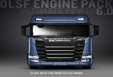 OLSF Engine Pack v6.0 for Scania S 2016