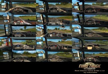 Real Interior Cams ETS2 v1.4 1.30.x