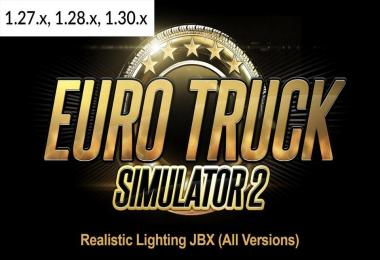 Realistic Lighting JBX - All Versions (18-12-2017) 1.30
