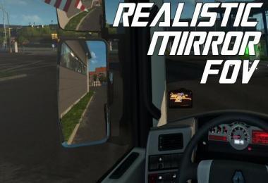 Realistic Mirror FOV 1.25-1.30