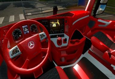 Red Interior for Mercedes MP4 by Catalin