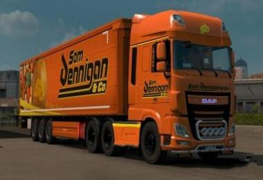 Sam Dennigan & Co DAF's (SCS) v1.0