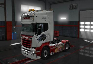 Scania R RJL War Thunder skin 1.30