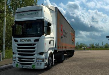 Scania RJL Jurwal Transport Skin