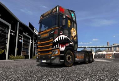Scania R&S 2016 Ready for Duty! Skin