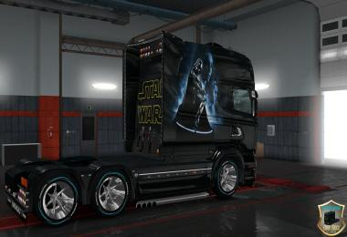Scania RS Longline & Scania T Longline Star Wars Slin