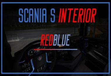 Scania S 2016 Interior (REDBLUE) 1.30