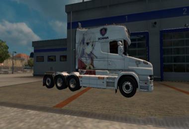 Scania T Dreamliner Charlotte Skin