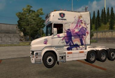 Scania T Dreamliner No game, No life Skin v1.0