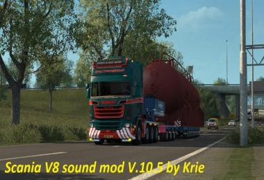 Scania V8 Sound Mod v10.5