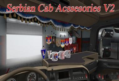 Serbian Cab Acssesories v2.0