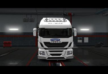 Skin Danone for Iveco Hi Way v1.0