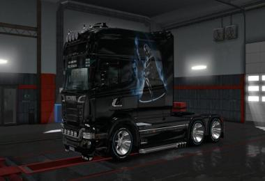 Skin Darth Veder for Scania RS Longline