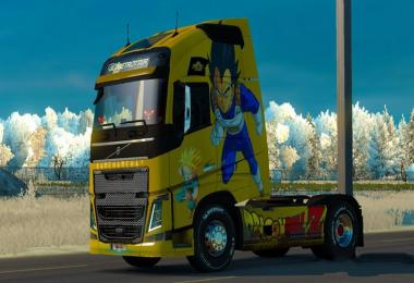 Skin Dragon Ball Z for Volvo 2012 v1.0