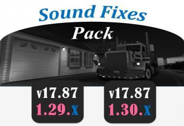 Sound Fixes Pack v17.87