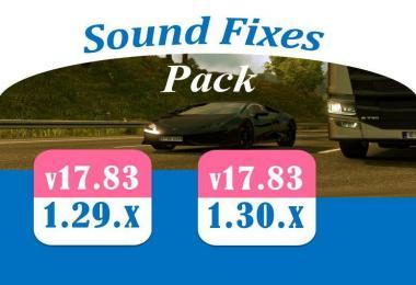 Sound Fixes Pack v17.83