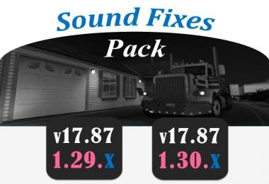 SOUND FIXES PACK v17.87 for ATS 1.29.x