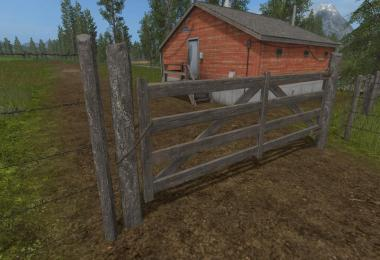 South America Gates And Fence (Prefab) v1.0
