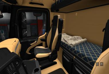 The luxury HD interior for Actros MP4 Final v1.3