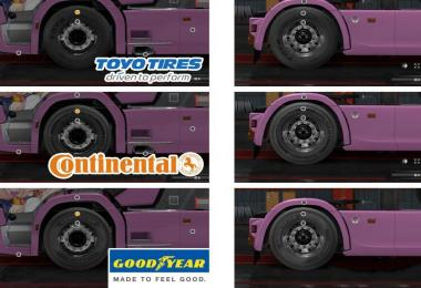 TKK5050 3Chome Improved Wheel Mod Series