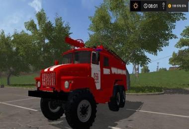 Ural Fire Truck v1.0