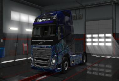 Volvo FH16 2012 Vaporwave Skin v2.0