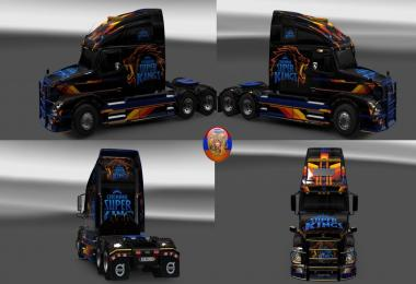 Volvo vnl670 Combo Skin Packs Super King 1.30