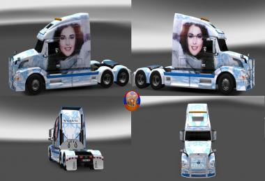 Volvo vnl670 Сombo Skin Packs Sati 1.30