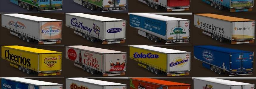 Trailers of food products All versions