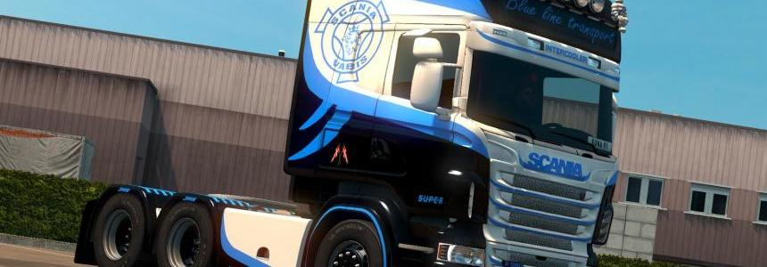 Blue Eagle skin for Scanai RJL 1.30