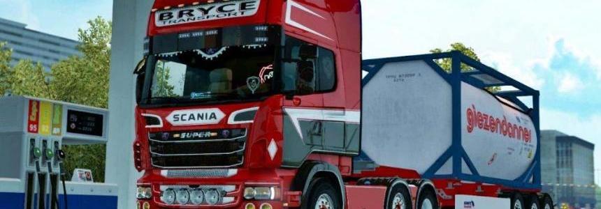 Bryce Transport Skin for Scania RJL Topline 1.30