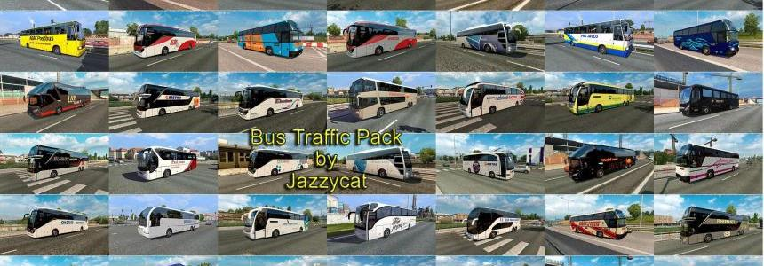 Bus Traffic Pack by Jazzycat  v3.5