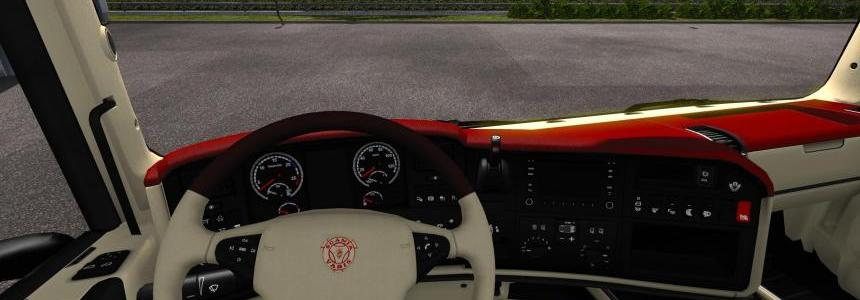 Custom interior skin for RJL Scania R 1.30